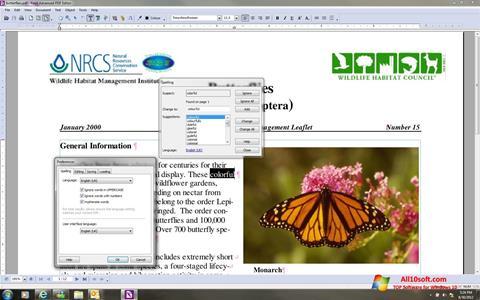 لقطة شاشة Foxit Advanced PDF Editor لنظام التشغيل Windows 10