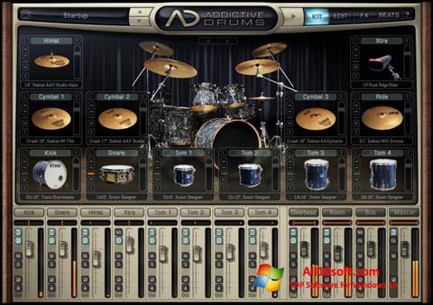 لقطة شاشة Addictive Drums لنظام التشغيل Windows 10