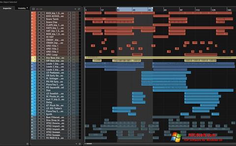 لقطة شاشة Nuendo لنظام التشغيل Windows 10