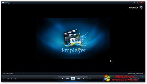 لقطة شاشة KMPlayer لنظام التشغيل Windows 10