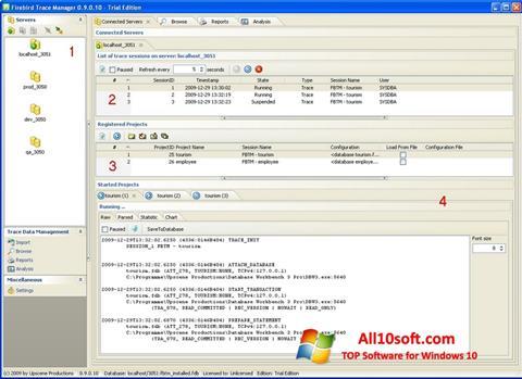 لقطة شاشة Firebird لنظام التشغيل Windows 10