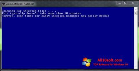 لقطة شاشة ComboFix لنظام التشغيل Windows 10