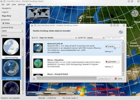 لقطة شاشة Marble لنظام التشغيل Windows 10