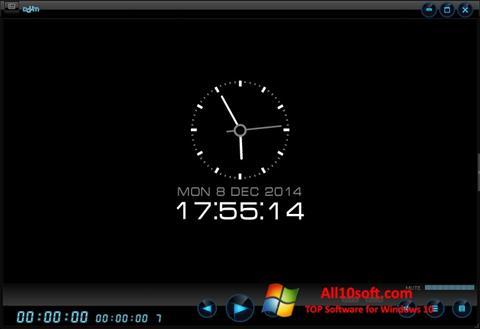لقطة شاشة Daum PotPlayer لنظام التشغيل Windows 10