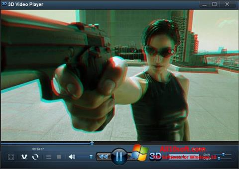 لقطة شاشة 3D Video Player لنظام التشغيل Windows 10