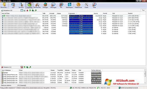 لقطة شاشة eMule لنظام التشغيل Windows 10