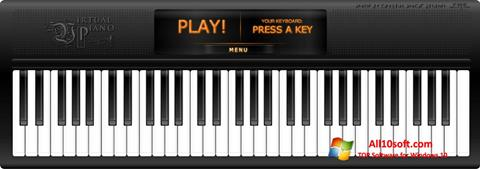 لقطة شاشة Virtual Piano لنظام التشغيل Windows 10
