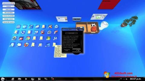 لقطة شاشة Real Desktop لنظام التشغيل Windows 10