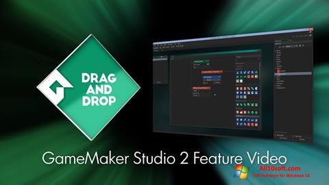 لقطة شاشة Game Maker لنظام التشغيل Windows 10