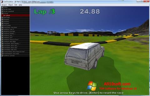 لقطة شاشة 3D Rad لنظام التشغيل Windows 10