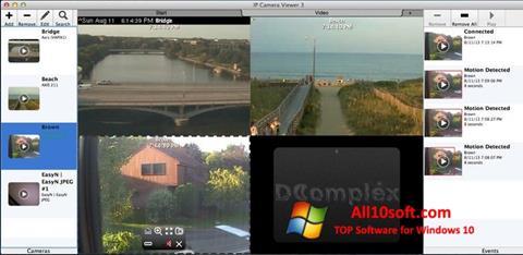 لقطة شاشة IP Camera Viewer لنظام التشغيل Windows 10