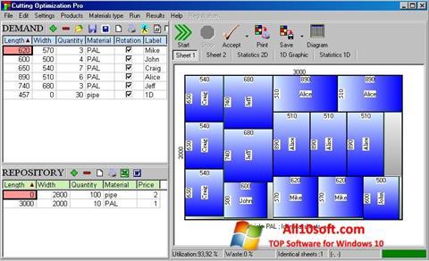 لقطة شاشة Cutting لنظام التشغيل Windows 10