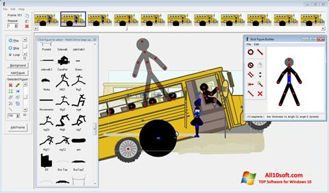 لقطة شاشة Pivot Animator لنظام التشغيل Windows 10