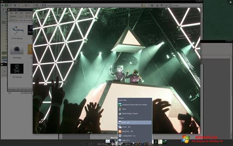 لقطة شاشة Picasa Photo Viewer لنظام التشغيل Windows 10
