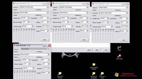 لقطة شاشة Virtual Audio Cable لنظام التشغيل Windows 10