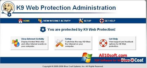 لقطة شاشة K9 Web Protection لنظام التشغيل Windows 10