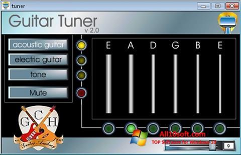 لقطة شاشة Guitar Tuner لنظام التشغيل Windows 10