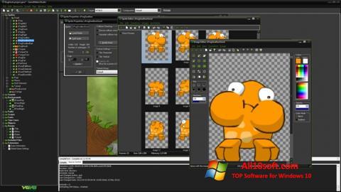 لقطة شاشة GameMaker: Studio لنظام التشغيل Windows 10