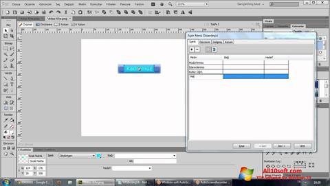 لقطة شاشة Adobe Fireworks لنظام التشغيل Windows 10