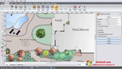 لقطة شاشة Realtime Landscaping Architect لنظام التشغيل Windows 10