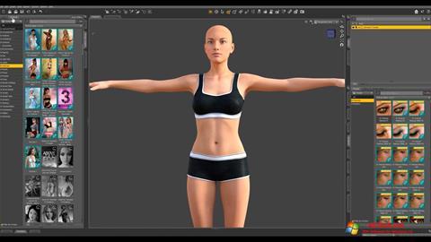 لقطة شاشة DAZ Studio لنظام التشغيل Windows 10