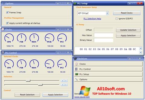 لقطة شاشة ClockGen لنظام التشغيل Windows 10