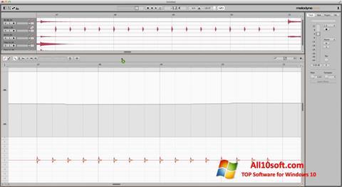 لقطة شاشة Melodyne لنظام التشغيل Windows 10