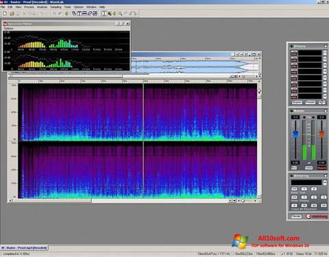 لقطة شاشة WaveLab لنظام التشغيل Windows 10