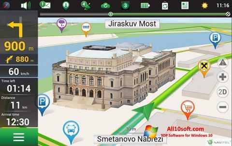 لقطة شاشة Navitel Navigator لنظام التشغيل Windows 10