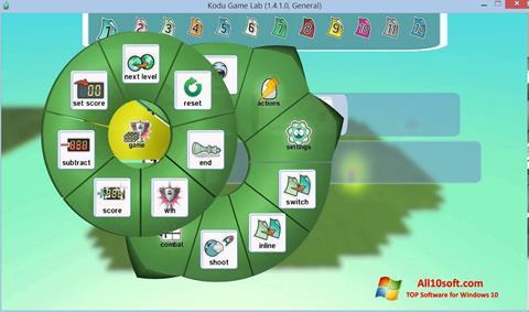 لقطة شاشة Kodu Game Lab لنظام التشغيل Windows 10