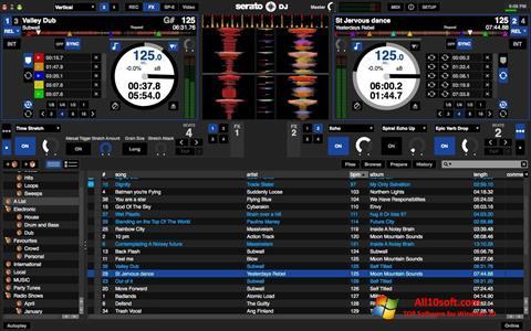 لقطة شاشة Serato DJ لنظام التشغيل Windows 10