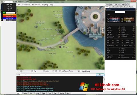 لقطة شاشة UoPilot لنظام التشغيل Windows 10