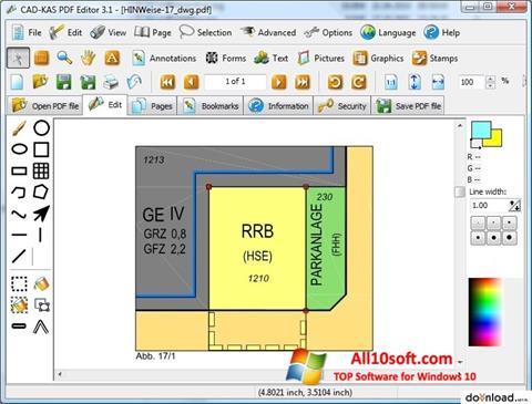 لقطة شاشة PDF Reader لنظام التشغيل Windows 10