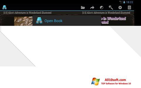 لقطة شاشة AlReader لنظام التشغيل Windows 10