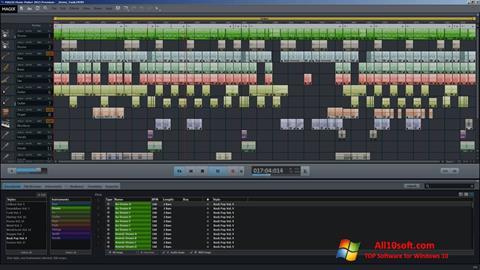 لقطة شاشة MAGIX Music Maker لنظام التشغيل Windows 10