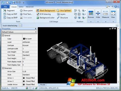 لقطة شاشة ABViewer لنظام التشغيل Windows 10
