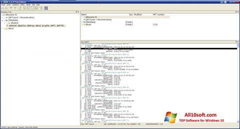لقطة شاشة DMDE لنظام التشغيل Windows 10