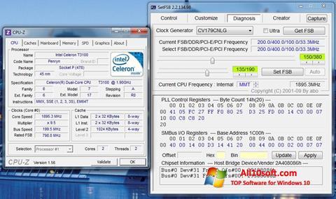 لقطة شاشة SetFSB لنظام التشغيل Windows 10