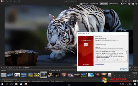 لقطة شاشة ACDSee Pro لنظام التشغيل Windows 10